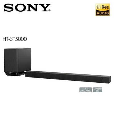 SONY HT-ST5000 7.1.2聲道 家庭劇院 SOUNDBAR 聲霸 公司貨 (9.6折)