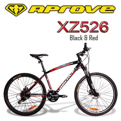 APROVE XZ526 超值27S碟煞登山車(紅/黑) (10折)