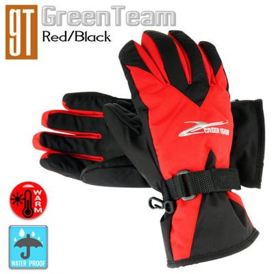 GT保溫科技 防水防寒柔軟手套(紅黑/格紋黑/藍黑) (8折)