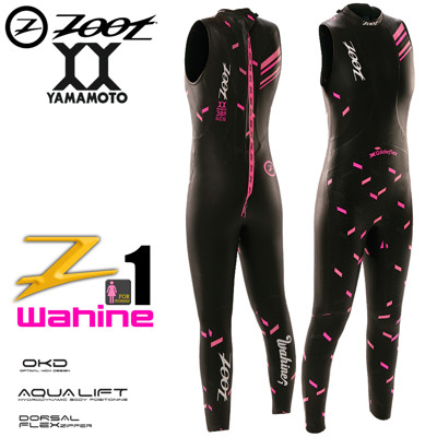 ZOOT Wahine 1 水精靈無袖防寒衣(女) (8折)