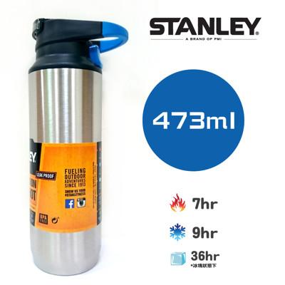 【美國Stanley】SwitchBack 單手真空保溫杯473ml(不鏽鋼原色) (8.8折)