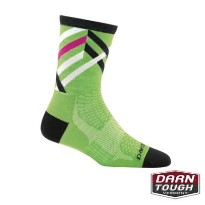 【美國DARN TOUGH】女羊毛襪GRAPHIC STRIPE MICR自行車襪(2入顏色隨機) (8.1折)