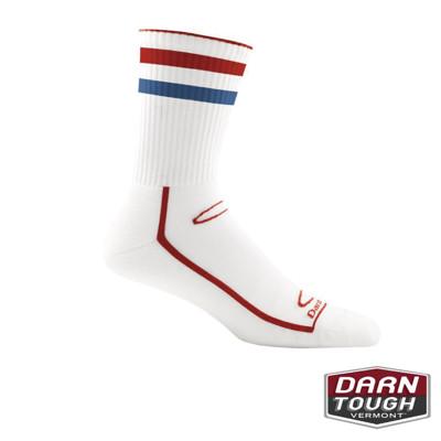 【美國DARN TOUGH】男羊毛襪DYNAMITE STRIPE越野運動襪(2入顏色隨機) (8.1折)