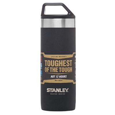 【美國Stanley】強悍系列保溫瓶0.53L-磨砂黑 (8.8折)