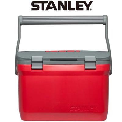 【美國Stanley】可提式15.1LCooler冰桶-紅色 (8.1折)