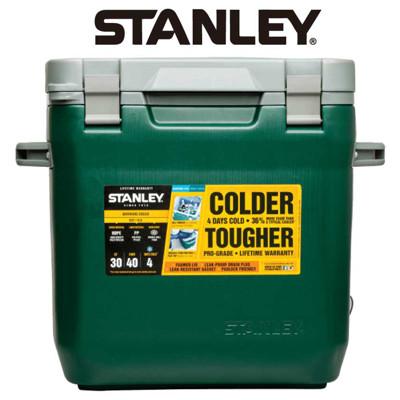 【美國Stanley】可提式Cooler冰桶 28.3L-綠色 (8.1折)