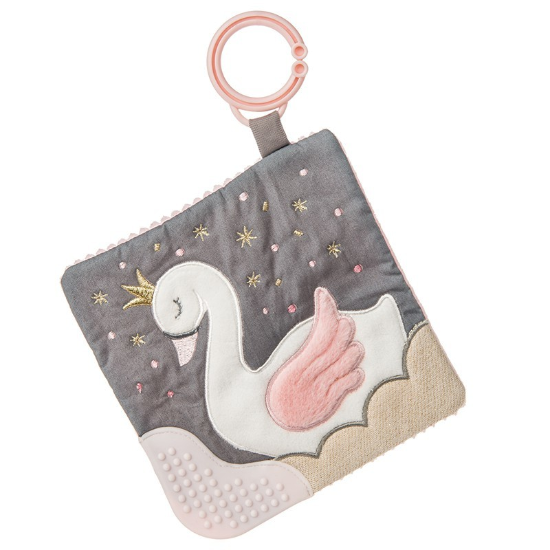 mary meyer蜜兒 - 多功能固齒沙沙紙(安撫巾) 優雅天鵝