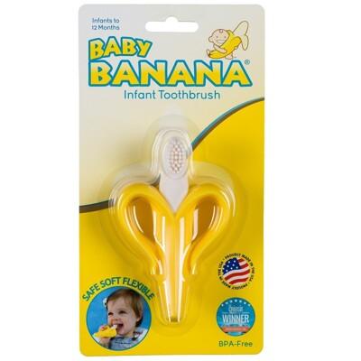 Baby Banana - 心型香蕉牙刷(固齒器) (5.7折)