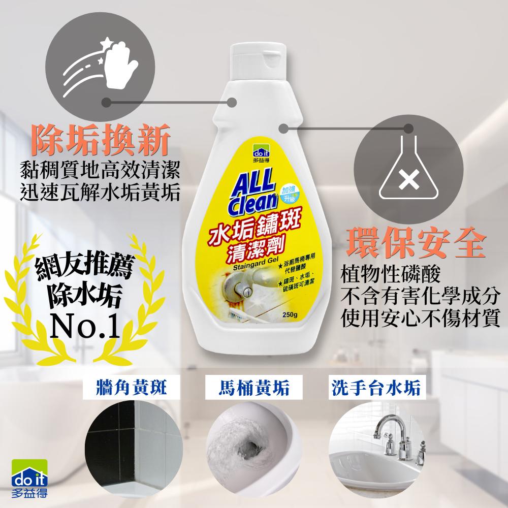 多益得 水垢鏽斑清洗劑250g