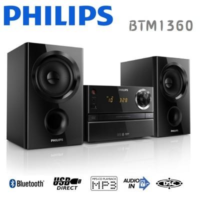 PHILIPS 飛利浦 無線藍牙微型劇院 BTM1360 (7.1折)