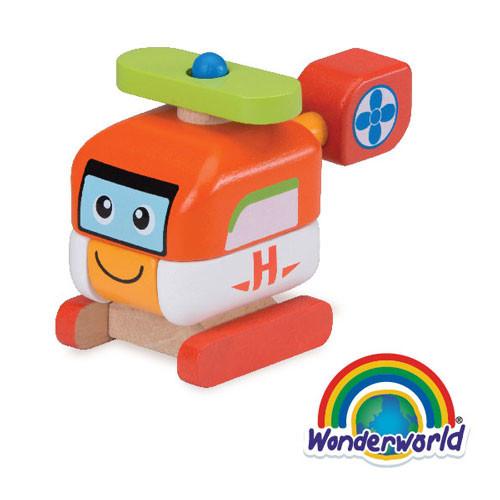 泰國 wonder world 歡樂拼裝系列-直升機
