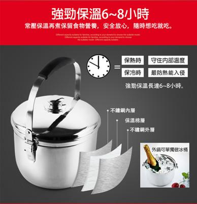 【丹露】高效能免火再煮鍋特厚款5L(D304-05A) (7.4折)