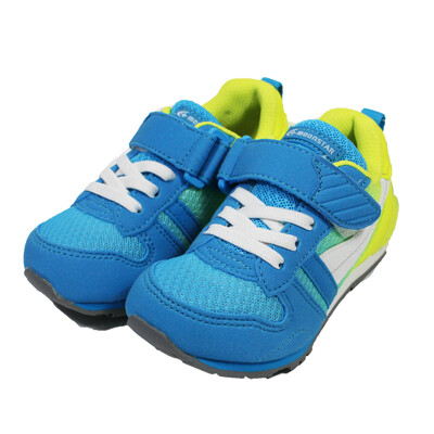 (B2)MOONSTAR月星 機能童鞋 2E寬楦 運動鞋 抗菌除臭 MSC2121G9 藍黃 (8.4折)