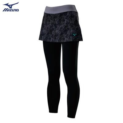 (B3) MIZUNO 美津濃 女 瑜珈褲 運動褲 褲裙 K2TB020609 韻律褲 (8.2折)
