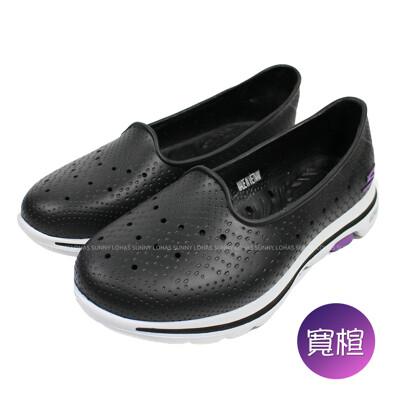 (b7) skechers 女鞋 go walk 5水鞋 雨鞋 健走鞋 防水 111105wbkw (7.4折)