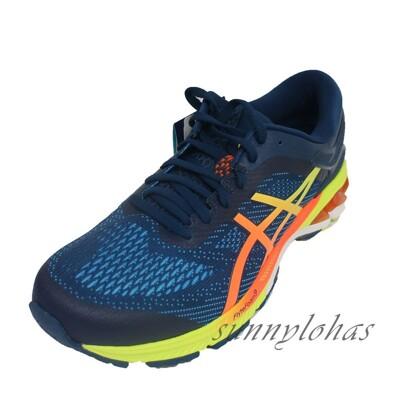 A6 ASICS 亞瑟士男GEL-KAYANO 26 慢跑鞋 支撐運動鞋1011A712-400 (8.5折)