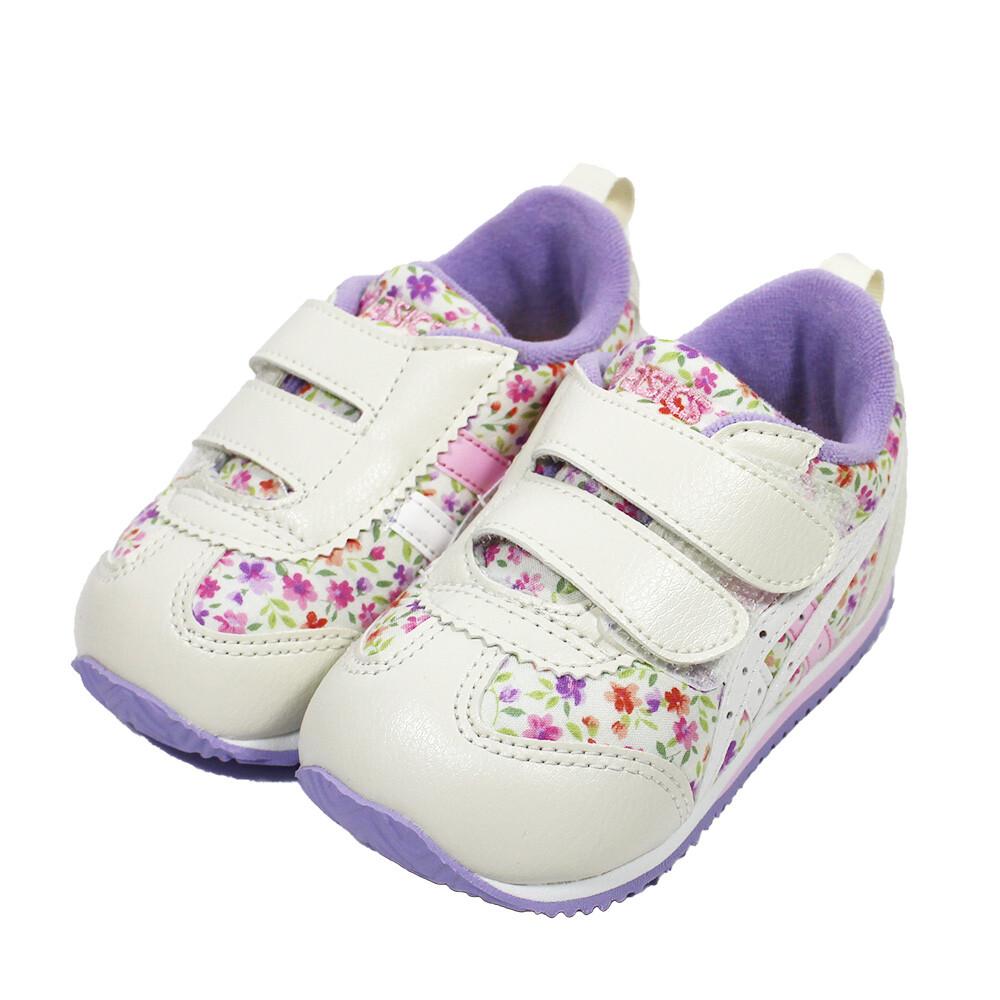 (b3) asics 亞瑟士 suku2 小童鞋 機能運動鞋 魔鬼氈 tub167-500 紫碎花