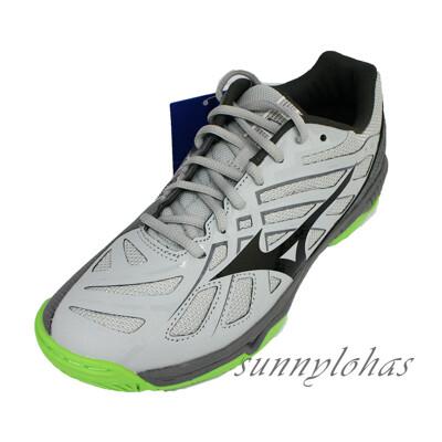 (A8) MIZUNO美津濃 (男) WAVE HURRICANE 3排球鞋V1GA174037灰綠 (8.5折)