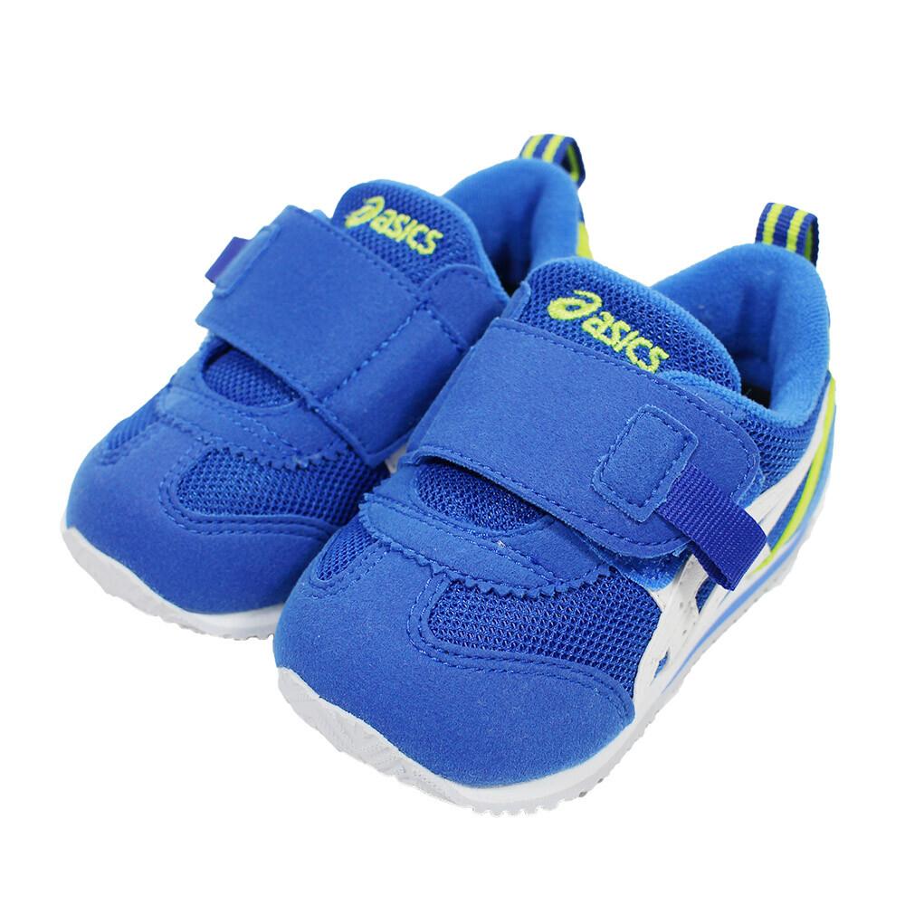 (b3) asics 亞瑟士 suku2 小童鞋 機能運動鞋 魔鬼氈 1144a082-400 帥氣