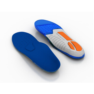 (C2) SPENCO 運動鞋墊 足弓支撐防護系列 矽膠緩衝避震款 足底筋膜炎 SI46-300 (10折)