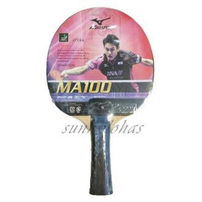 (A9) Mizuno 美津濃 桌球拍 刀板MA100 已貼膠皮與框貼 83GTT86027 (9.2折)