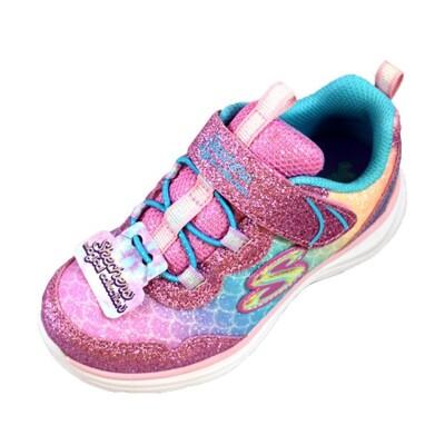 (AZ) SKECHERS 女童 運動鞋 休閒鞋 GLIMMER KICKS 81444NLPMT (9折)
