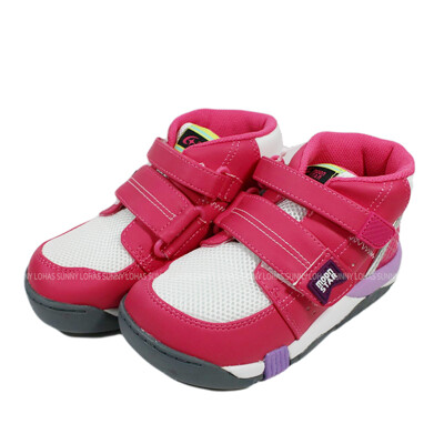 (BX) Moonstar 日本機能童鞋 抗菌除臭 矯正鞋 中高筒魔鬼氈 童鞋 CRC21404 (8.4折)