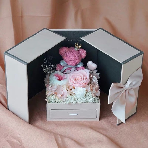 雙開禮盒小熊材料包附製作說明書