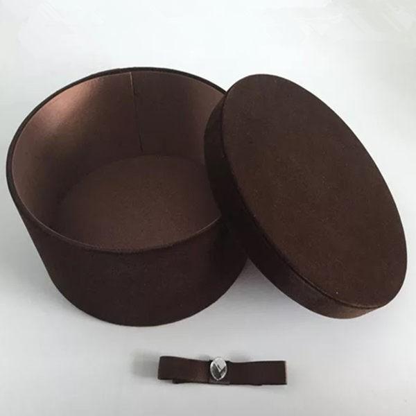 永生花包裝材料韓式絨布高級禮盒多款可選