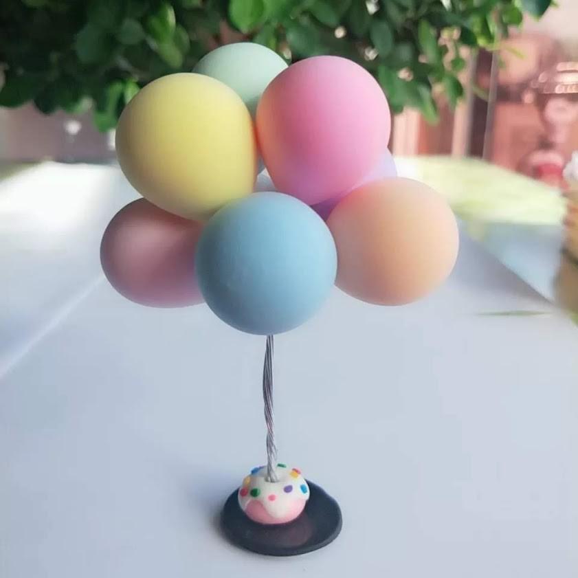 告白氣球底座 輕黏土 (共有6款)(10入)