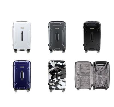 Flexflow 太空灰 29型 特務箱 智能測重 防爆拉鍊旅行箱 南特系列 29型行李箱 (2.9折)