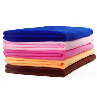 超細纖維四季沙灘巾 超強吸水 快乾(70x140cm)5色可選 (3.3折)