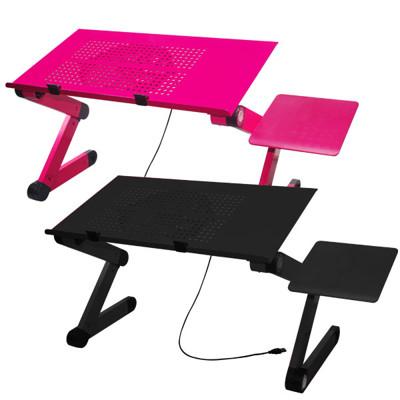 LISAN百變可折含散熱版電腦桌 (雙色可選) (4.1折)