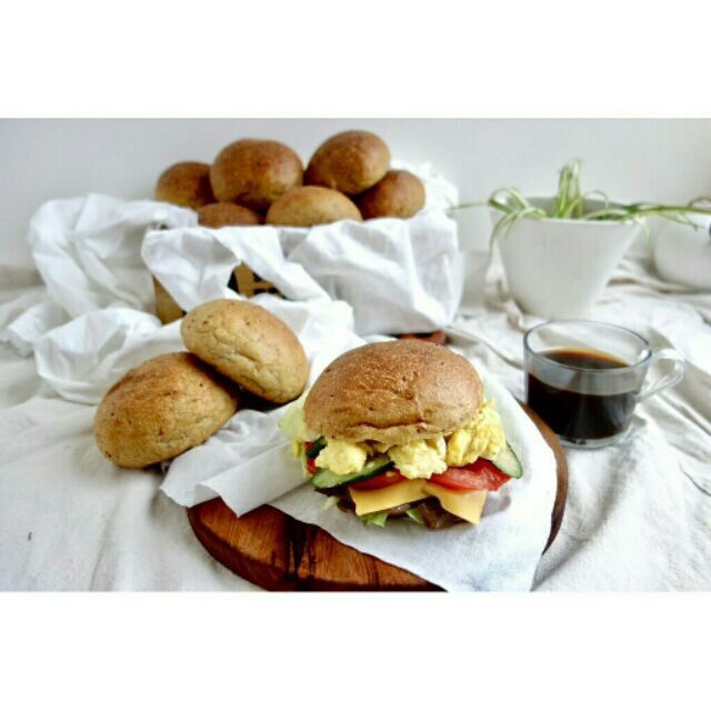 [低碳無糖麵包] 生酮原味餐包低碳無糖高纖維