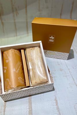 【寶珍香】雙捲禮盒-生乳捲+北海道十勝奶霜 (7.4折)