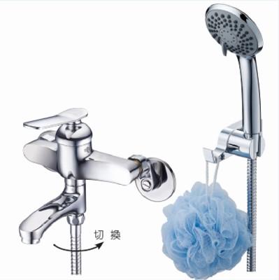 【洗樂適衛浴】LOLAT羅力銅器、單槍沐浴水龍頭SNN1455H、台灣製造 (4.7折)