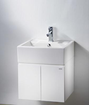 【凱撒衛浴caesar】50公分一體瓷盆浴櫃組含龍頭 LF5236/B460C, (4.2折)