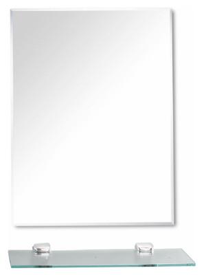 【洗樂適衛浴CERAX】防霧化妝鏡 鏡子 附平台+平台夾 45*60直掛(LT-800-45) (4.6折)