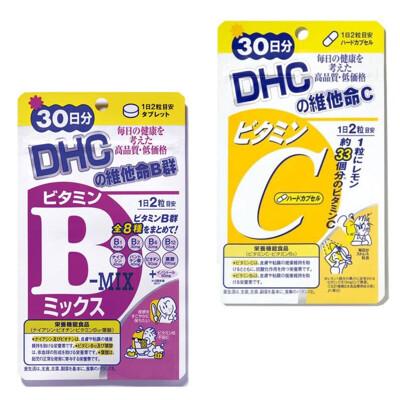 專品藥局 DHC 維他命C/ 維他命B群 30日份 60粒 (5.4折)