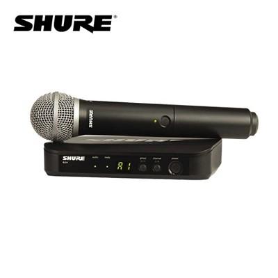【敦煌樂器】Shure BLX24/PG58 無線麥克風組 系統搭配 PG58 麥克風 (9.3折)