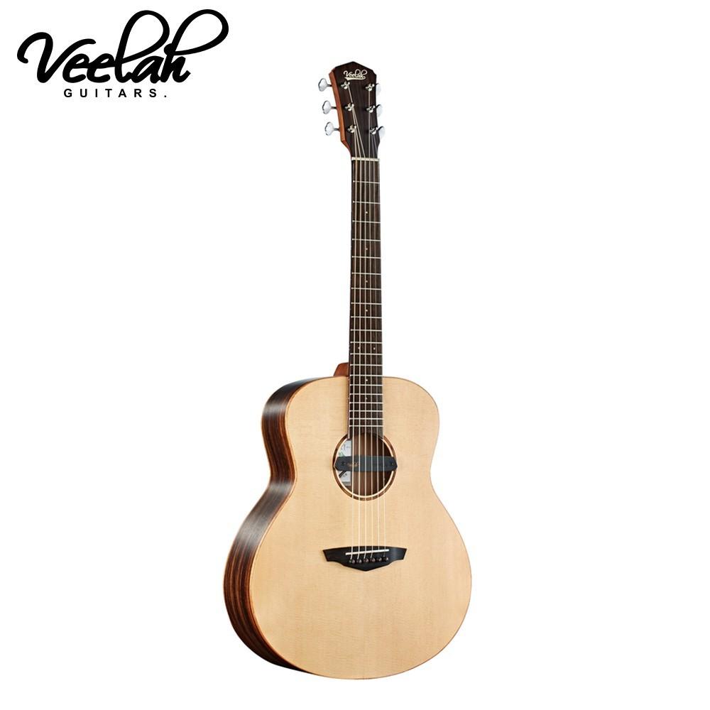 敦煌樂器veelah mc-r-e mini campe36吋 單板旅行吉他