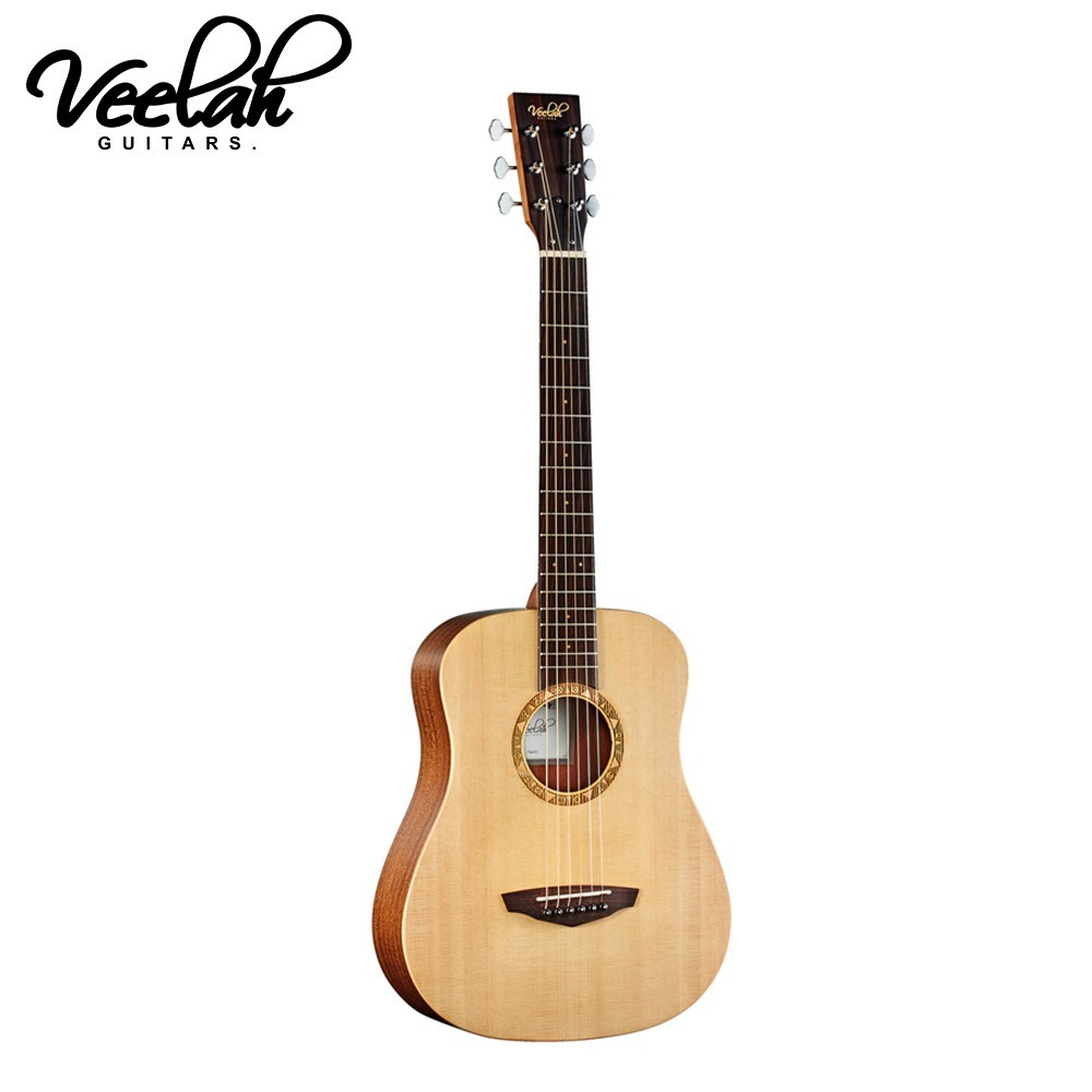敦煌樂器veelah togo-s 面單板旅行民謠吉他