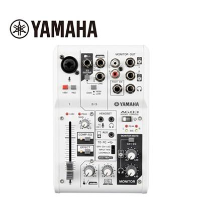 【敦煌樂器】YAMAHA AG03 混音器 (8折)