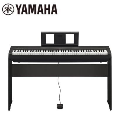【敦煌樂器】YAMAHA 山葉 P45 88鍵 電鋼琴 黑色 原廠公司貨 商品保固有保障 (9折)