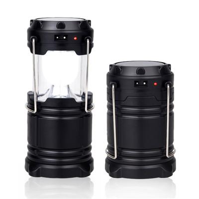 太陽能手提伸縮LED露營燈 (3.4折)