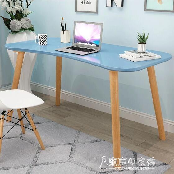 電腦桌台式家用簡約現代經濟型北歐臥室寫字辦公學習桌子簡易書桌.新北購物城 - 長90*寬50*高75