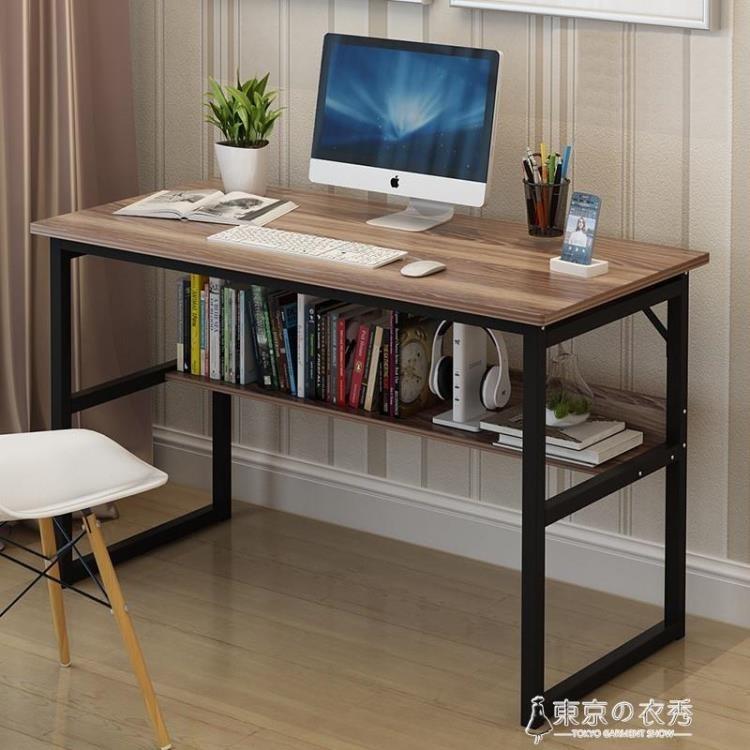 電腦桌台式家用簡約經濟型臥室桌子簡易單人書桌組裝辦公桌寫字台.新北購物城 - 長80*寬50*高75