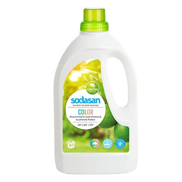德國原廠sodasan<蘇達桑>亮彩萊姆洗衣精 1.5l