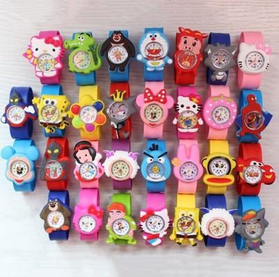 多款卡通硅膠拍拍兒童手錶 (2折)