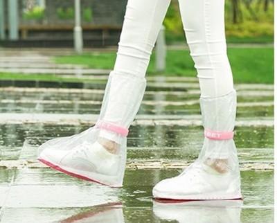 防滑防雨防雪兒童防水高筒鞋套(一組2雙入) (1.2折)